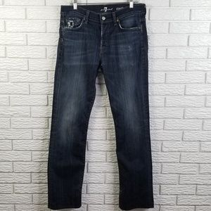 7 For All Mankind Standard Straight Jeans 32x32
